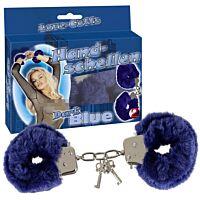Металеві наручники з плюшем