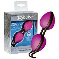 Дуже приємні водонепроникні кульки Joyballs secret рожеві