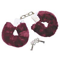 Плюшеві наручники Bad Kitty фіолетові
