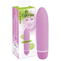 Маленький жіночий вібратор з силікону Smile Comfy