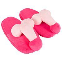 Тапочки з пенісами рожеві