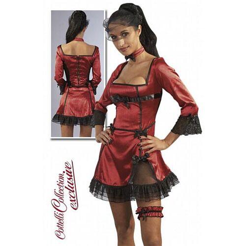 Міні-плаття Червоний атлас