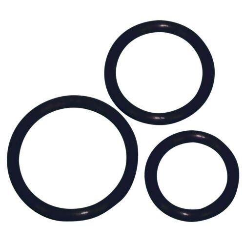 Тріо кілець на пеніс для тривалої ерекції 100% silicone