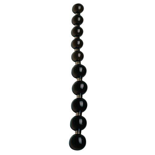 Анальні шарики чорні