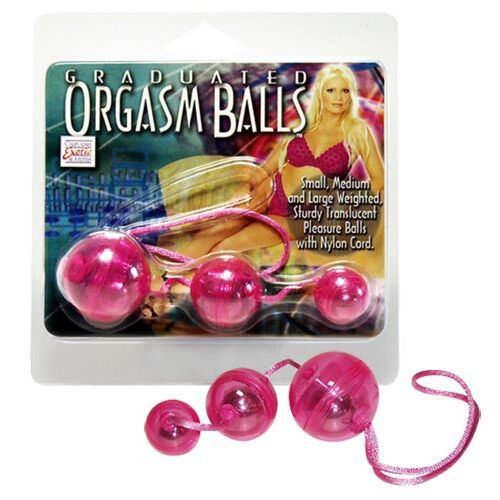 3 Кульки для оргазму