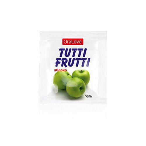 Оральна змазка зі смаком яблука TUTTI-FRUTTI 4г